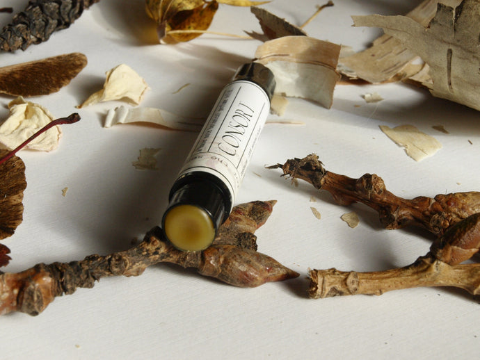CONSORT - natural base note solid perfume wand