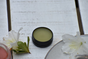 SPRING EPHEMERAL BEAUTIF-EYE balm | Intensive emollient eye care balm. blue yarrow. celery. neroli. rose. licorice. marshmallow. chamomile