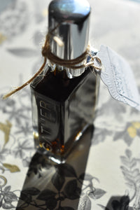 VINTAGE VIOLET - Natural Botanical Perfume - Mysterious Ways . Green Chypre
