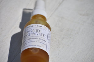 HONEY ROSEWATER - Perfect Natural Cleansing Nectar -