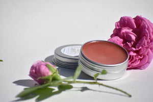 ALL THE ROSES - heal all butter balm - 100% natural wild rose salve