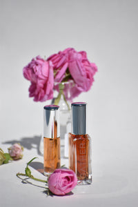 RAINWATER ROSE - Natural Botanical Eau de Toilette | Fresh Blooming Roses hand gathered at the Ocean