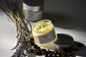 LAVENDER COFFEE - Gentle Luxury Face Cream - 100% natural, hand whipped