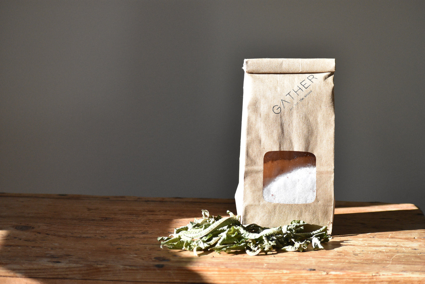 WINTER SOLACE SALT SOAK - lemon verbena -