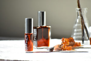 Ambreine, Natural Botanical Amber Fragrance by Gather perfume