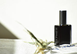 Bluegrass, Natural Botanical Perfume, The Prairie Meadow, Sweetgrass, fresh green, by Gather