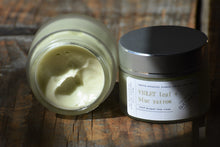 VIOLET LEAF BLUE YARROW | hand whipped face cream