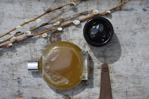 THE SIGH OF TREES | Charcoal + Willow Face Mask | + honey, herbs, neroli, frankincense by Gather