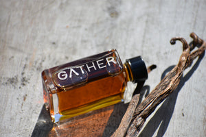 autonoetic botanical perfume ginger sandalwood butter tea by gather