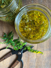 Goldenrod tincture foraged
