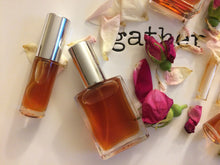 Rainwater Rose botanical perfume by Gather, natural wild rose fragrance