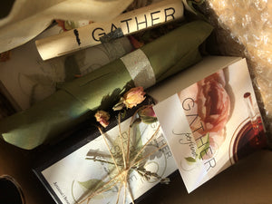 SPRING BEAUTY - a seasonal gift coffret - Luxury 4 pc Collection by Gather Perfume. LIMITED