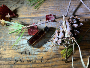KEY { to the forest } - folk tale week perfume - coniferous, balsams - Limited project
