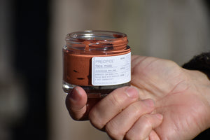 Honey Clay face mask probiotic all natural