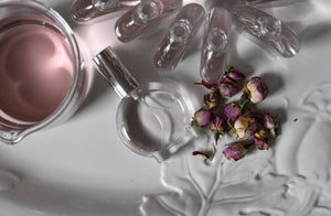 ROSEWATER VEIL - Aromatherapy Hydrosol Mist For Face and Body