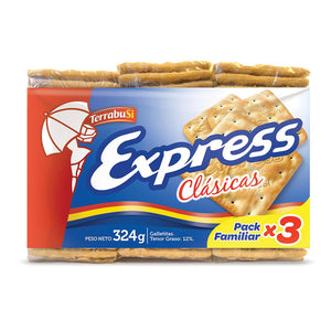 Terrabusi Express Galletas Clásicas Crackers / 324g