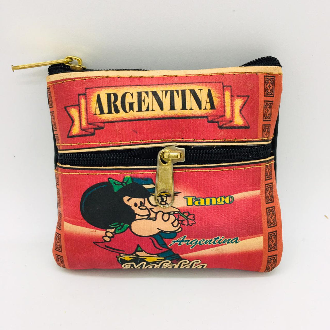 Monedero with Mafalda Design (Coin Purse)
