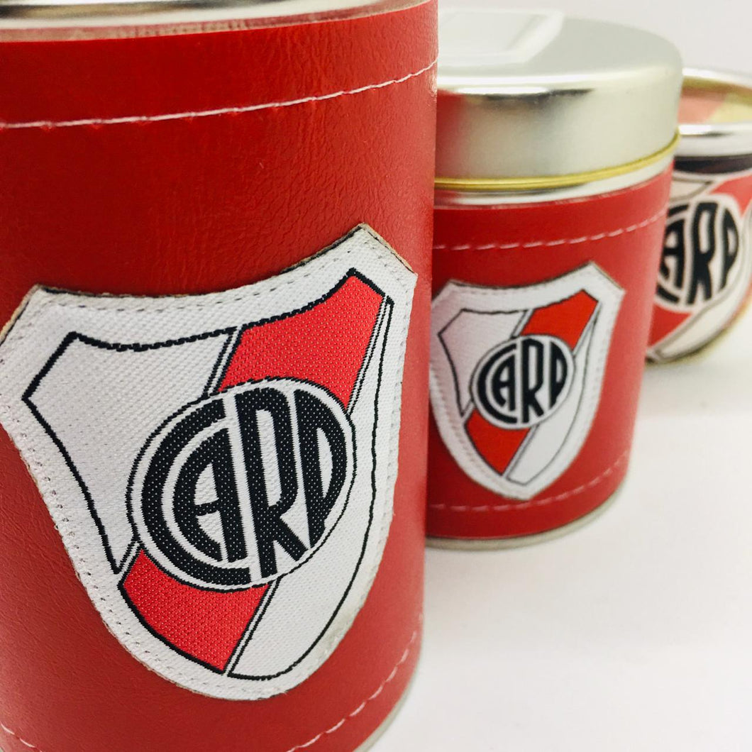 Set de Mate (3 Piece Set) Eco Cuero ~ River Plate