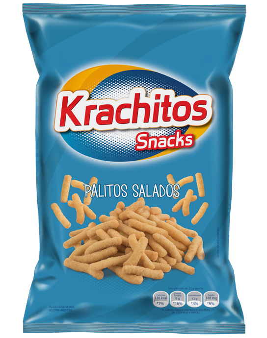 ar-trader-corp - Krachitos Snacks - Palitos Salados - Krachitos Snacks - Galletas