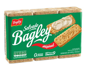 Bagley Galletitas Salvado / 642g