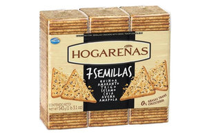 Hogareñas Galletitas 7 Semillas Crackers with 7 Seeds / 567g