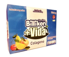 Load image into Gallery viewer, Billiken Gomitas + Vida Colageno Sweet Colagen Gummies (Box of 12)
