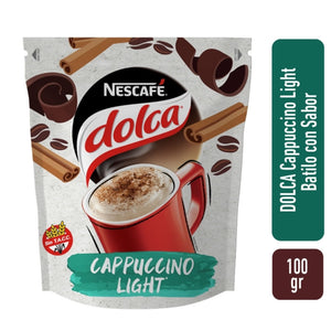 Nescafe Dolca Cafe / Coffee Cappuccino light 100gr
