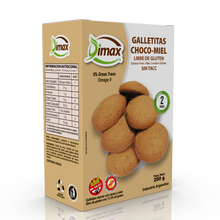 Load image into Gallery viewer, Galletitas Choco-miel -Dimax