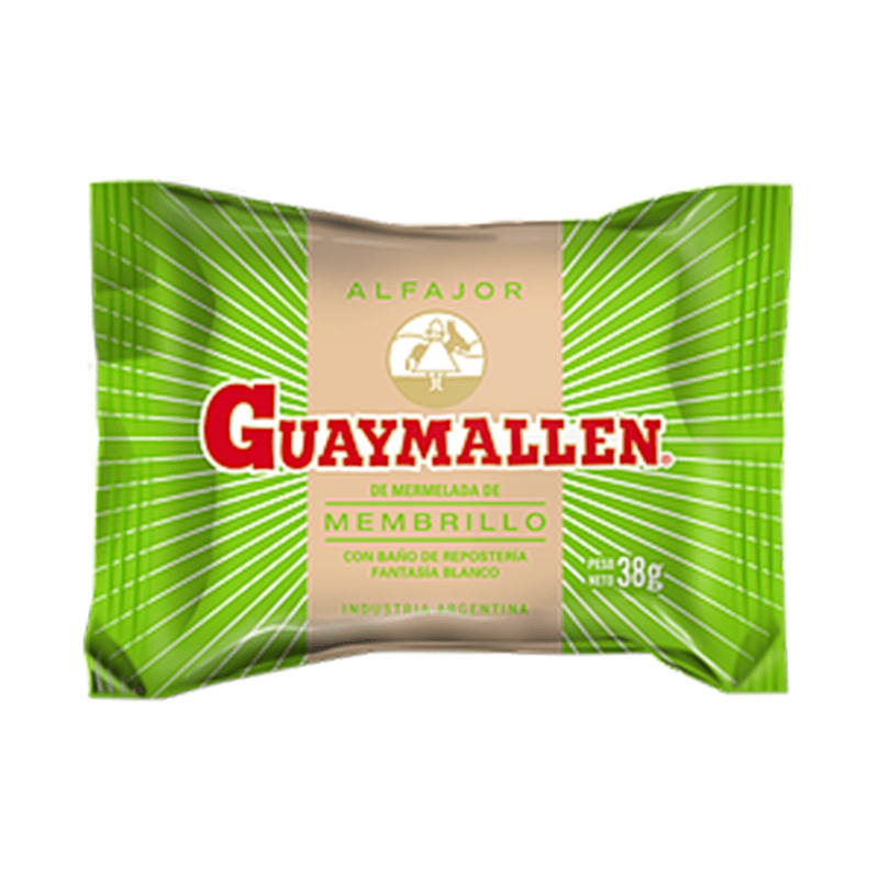 Guaymallen Alfajor de Membrillo - Quince Jam (Pack of 6)