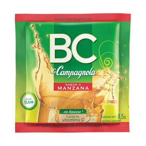 BC Jugo de Manzana - Apple Juice - box / caja de 18 u.
