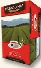 Patagonia Finest Tea Té Rojo Red Tea (box of 20 bags)
