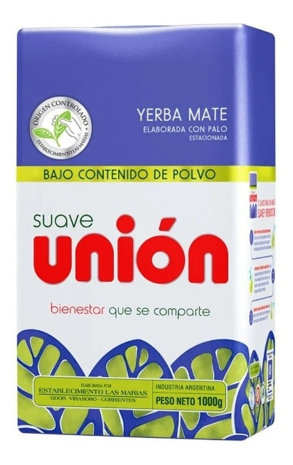 Yerba Mate Union Low Dust content 1 kg