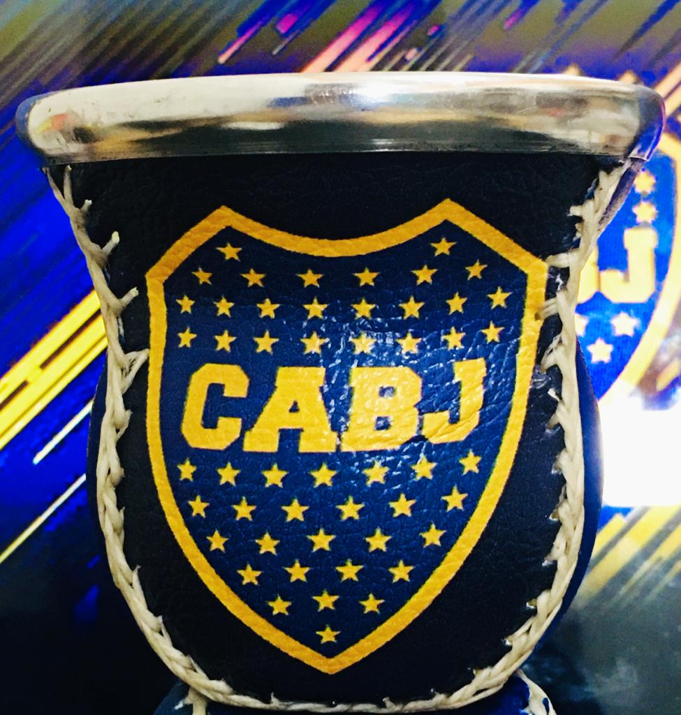 Mate de Vidrio (Glass) ~ Boca Juniors