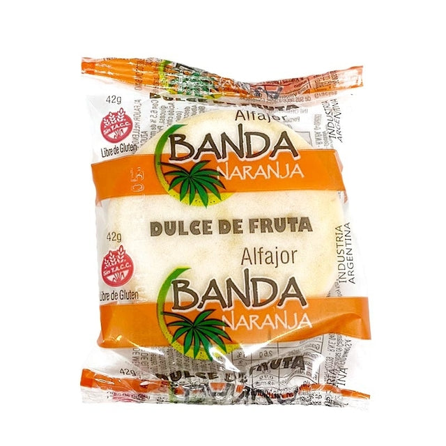 Banda Naranja Alfajor de Fruta Membrillo - Quince Jam (Pack of 3)