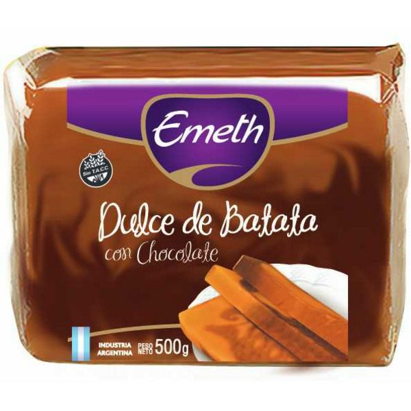 Emeth Dulce de Batata con Chocolate Sweet Potato Jam with Chocolate / 500g