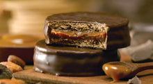 Load image into Gallery viewer, Cachafaz Dark Chocolate Alfajor with Dulce de Leche (Box of 6)