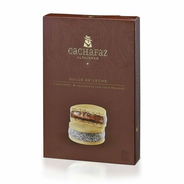 Cachafaz Alfajor de Maicena (Cornstarch) - Pack of 6