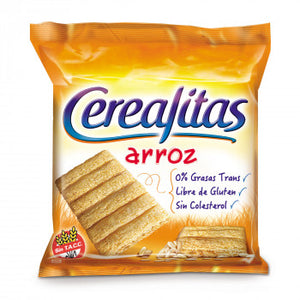 Cerealitas de Arroz Wholegrain Rice Crackers / 160g