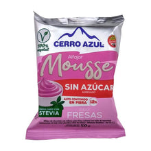 Load image into Gallery viewer, Alfajor Mousse vegano - Cerro Azul Fresa Sin azucar x 3