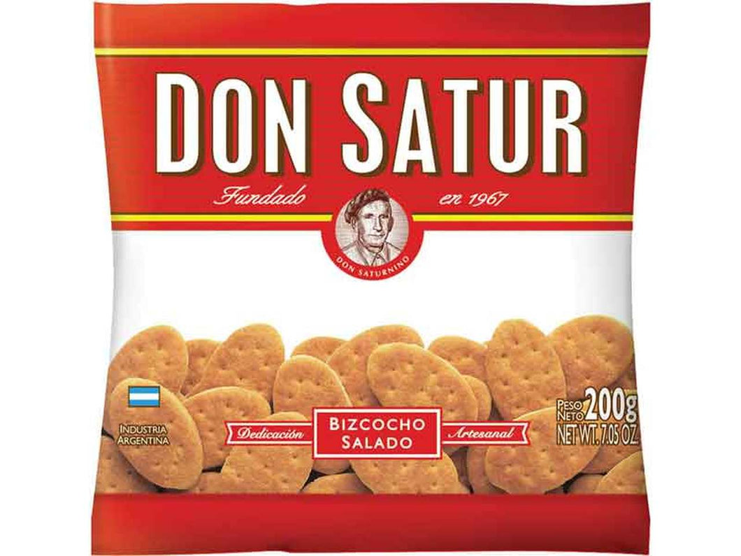 Don Satur Bizcochitos Salados Classic Biscuits / 200g