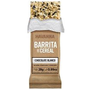 Havanna White Chocolate Cereal Bar x 3
