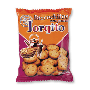 Jorgito Bizcochitos de Grasa Traditional Biscuits / 200g