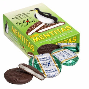 Felfort Mentitas de Chocolate Mint Chocolate Candies / 480g (30 Count)