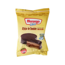 Load image into Gallery viewer, Merengo Alfajor de Chocolate con Dulce de Leche Chocolate Alfajor with Dulce de Leche GLUTEN FREE (Pack of 3)