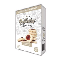 Load image into Gallery viewer, Palluzzi Pepas de Dulce de Membrillo Sweet Cookies with Quince Jam Gluten Free / 200g