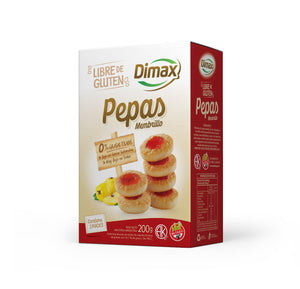 Dimax Pepas Membrillo Sweet Cookies with Quince Jam Gluten Free / 200g