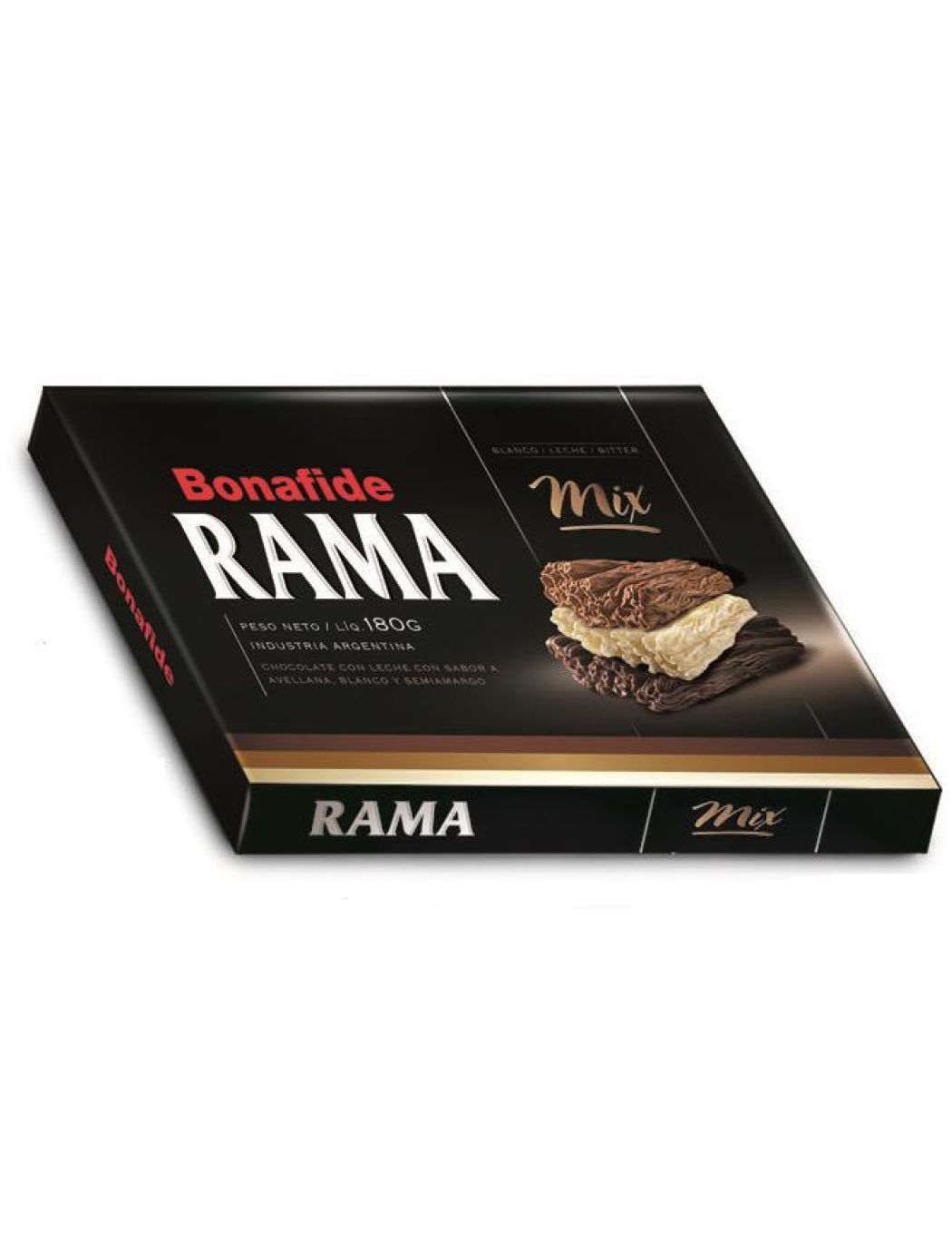Bonafide Chocolate Mixto en Rama Mixed Branched Chocolate / 180g