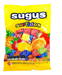 Sugus Caramels Surtidos Assorted Chewy Candies / 150g