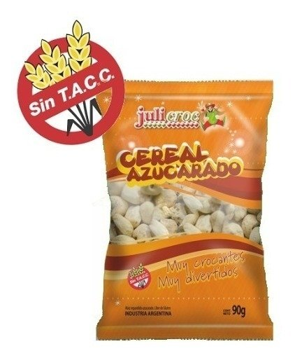 Julicroc Tutucas Cereal Azucarado/ 90g (Pack of 2)