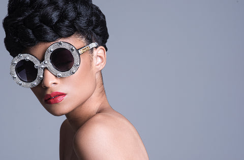 Crystal Moon- Couture eyewear